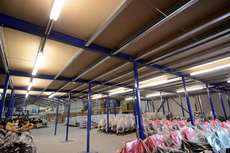 Mezzanine Floor Storage