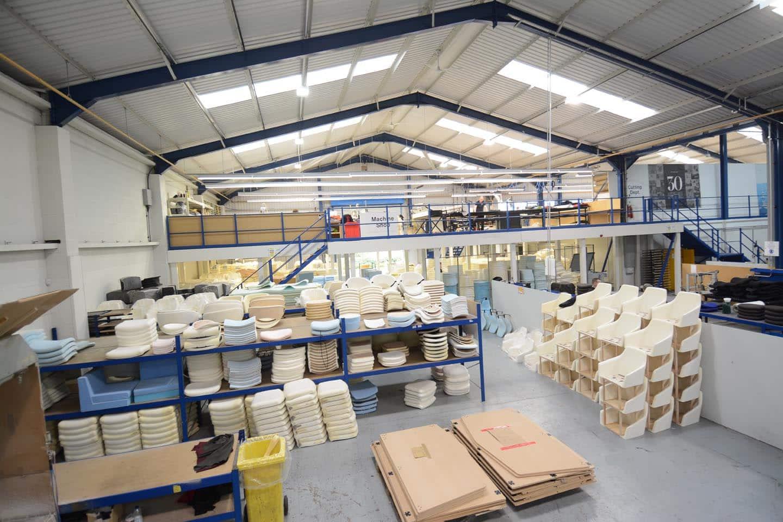 Wide Mezzanine Floors