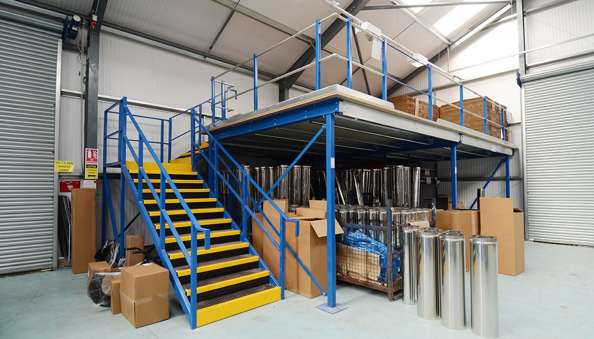 how to build a wooden mezzanine floor