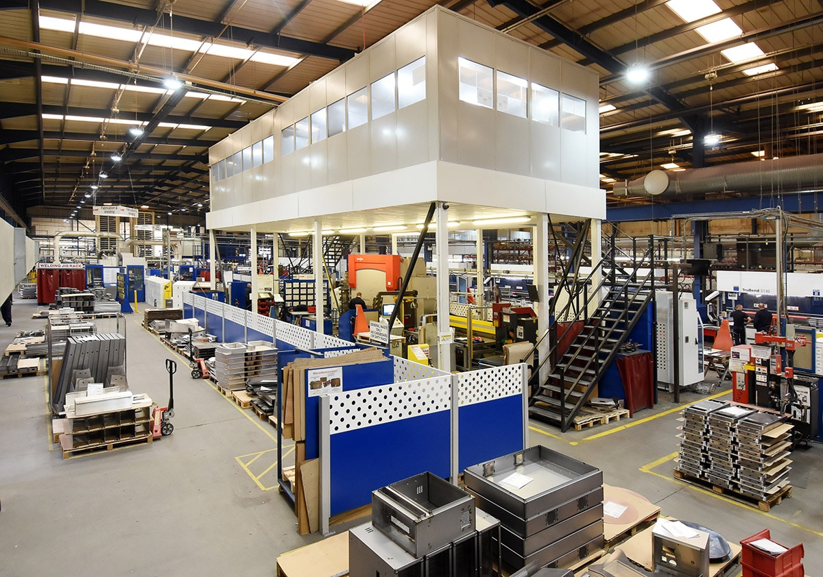 Industrial Office Mezzanine Floor
