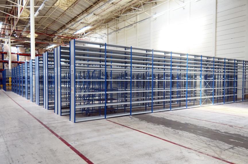 short span shelves