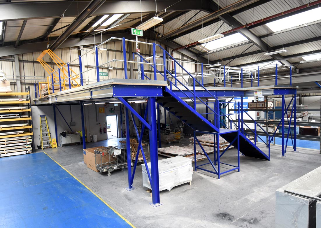 Mezzanine Flooring With Stairs