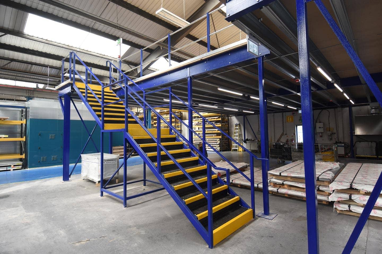 Mezzanine Flooring Stairs