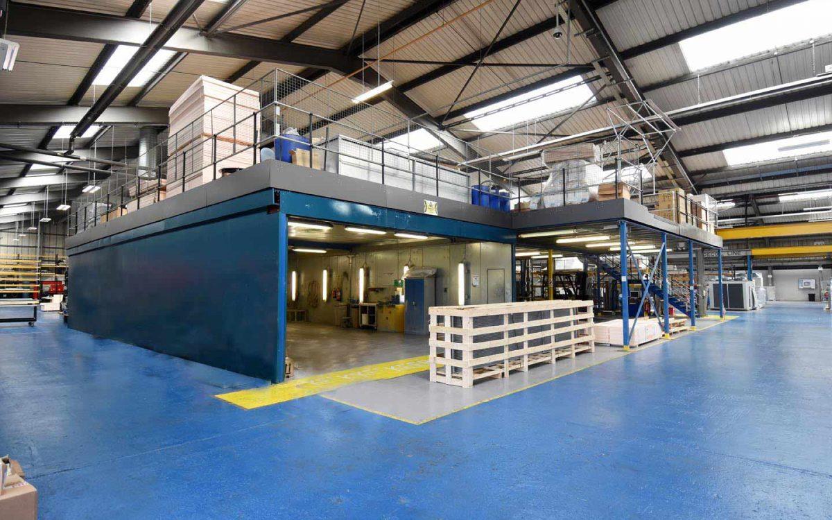 Production Mezzanine Flooring