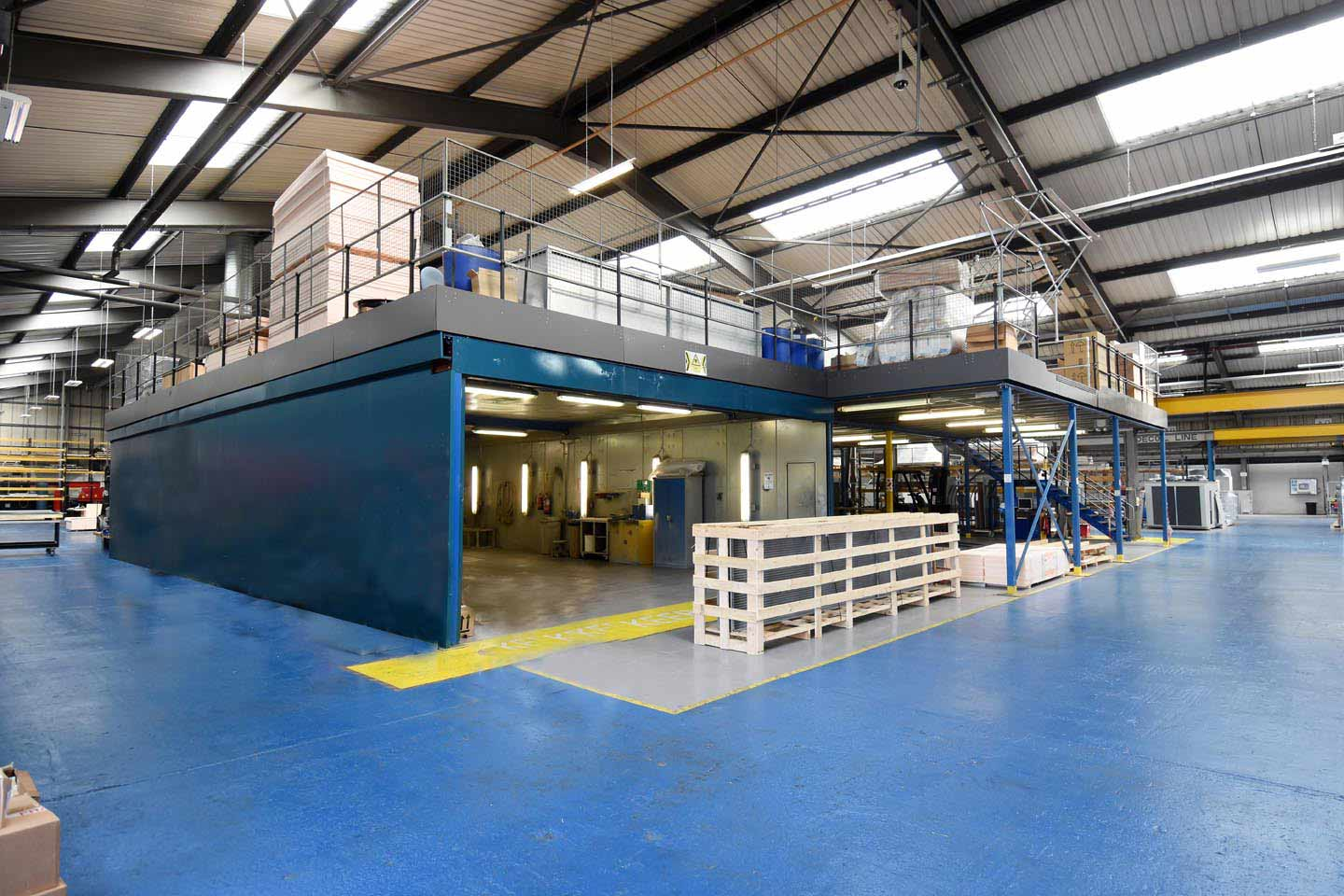 Production Mezzanine Flooring