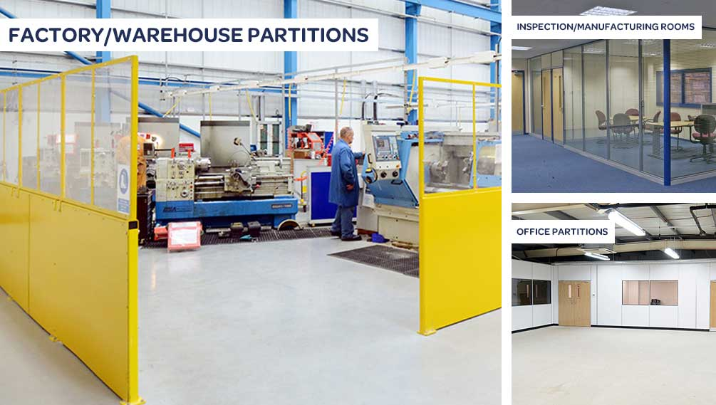 factory/warehouse partitions