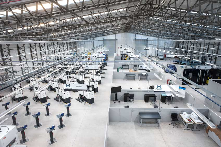 THE MARCHES CENTRE OF MANUFACTURING & TECHNOLOGY (MCMT)