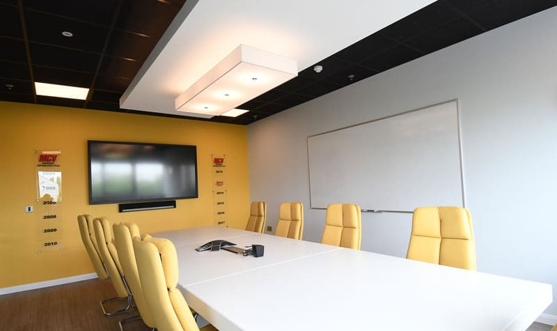 Suspended Ceiling in Meeting Room